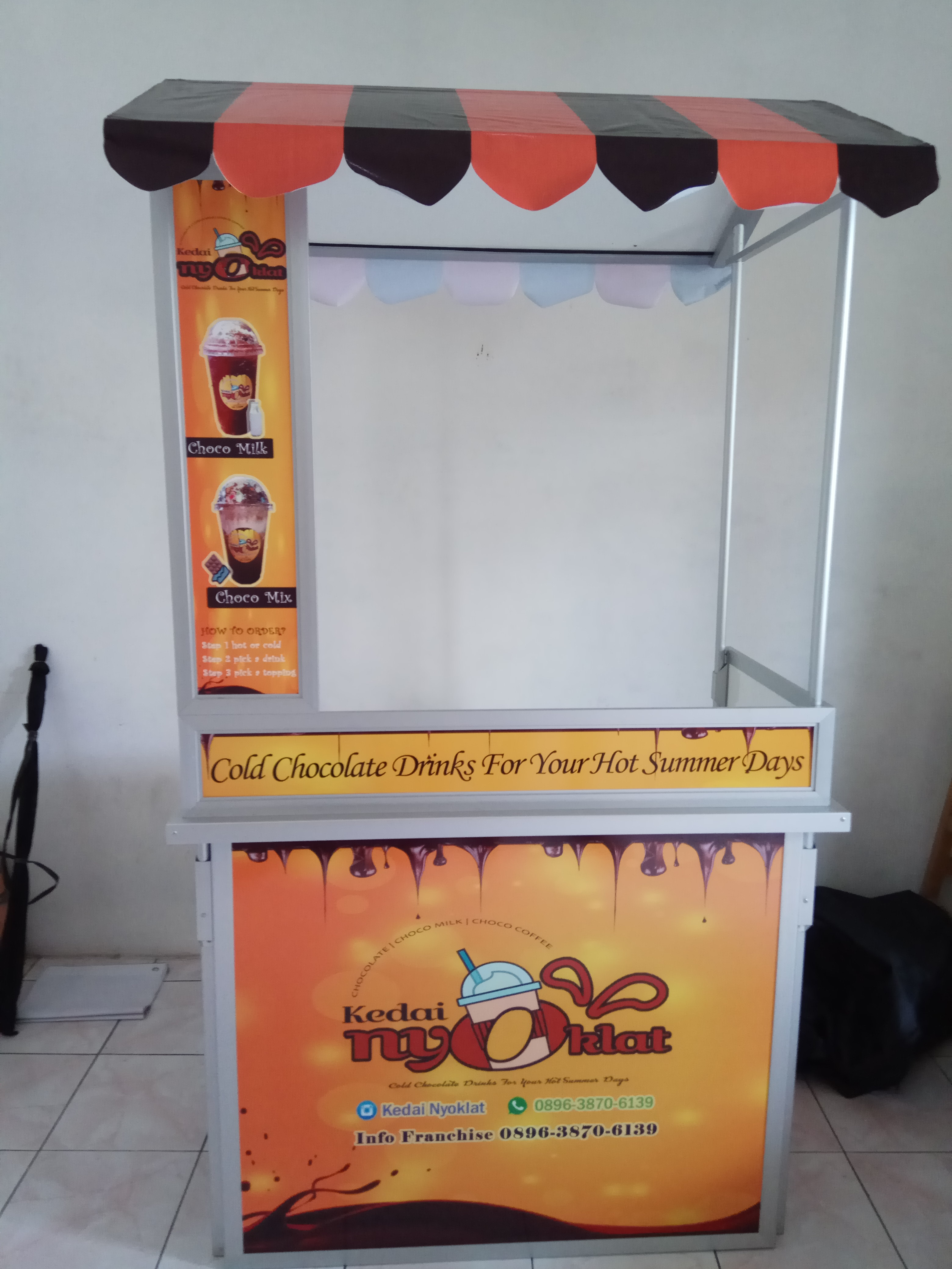 Jual Booth Portabel Java Bubble Drink