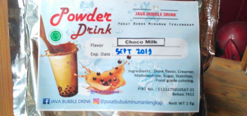 Jual Bubuk Minuman Bubble di Makassar