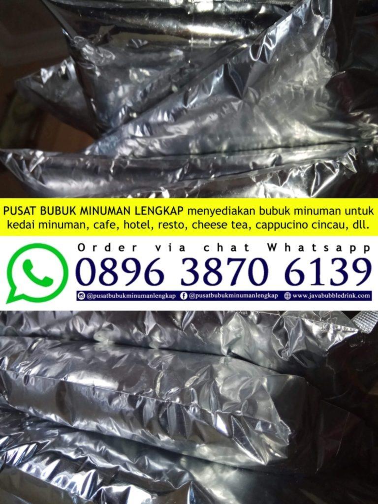 Distributor Bubuk Minuman Bubble Drink Harga Termurah di Pati Hubungi 089638706139