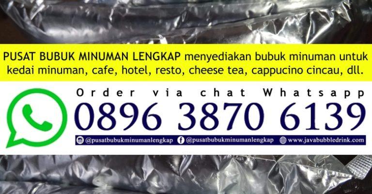 JUAL POWDER BUBBLE DRINK DEPOK | WA 089638706139