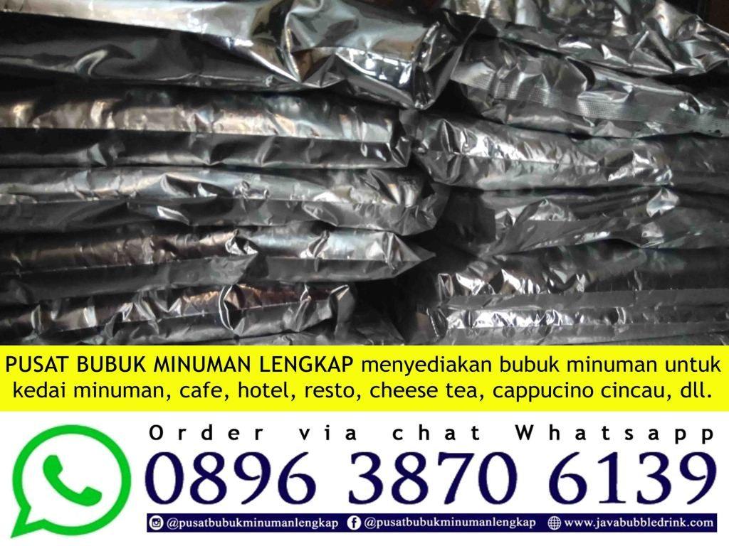 Jual Bubuk Minuman Bubble Drink Di Bandung | WA 089638706139