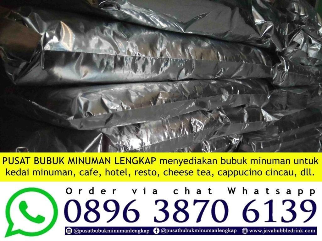 JUAL BUBUK MINUMAN BUBBLE MAKASSAR | WA 089638706139