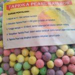 Jual Topping Tapioca Pearl Rainbow Murah WA.089638706139