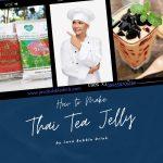 Resep Membuat Thai Tea Jelly Yang Simpel Dan Praktis
